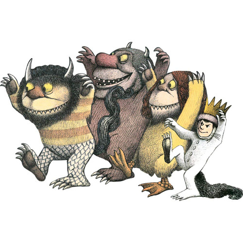 Where the Wild Things Are - 24pc Shaped Floor  Puzzle by Paper House