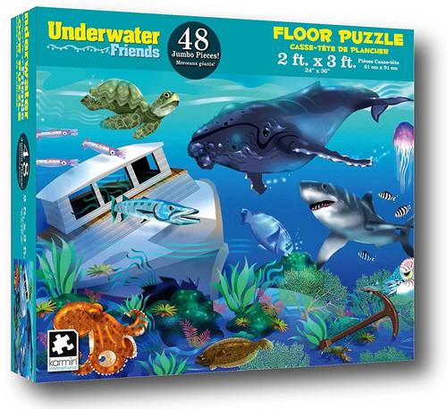 Underwater Friends - 48pc Floor Puzzle by Karmin