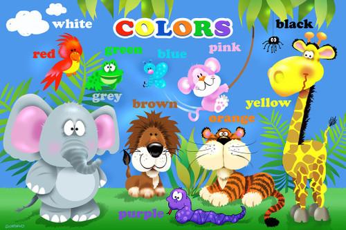 Colors - 48pc Floor Puzzle by Karmin