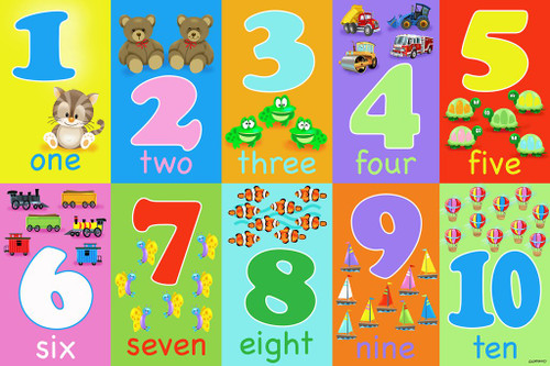 Numbers - 48pc Floor Puzzle by Karmin