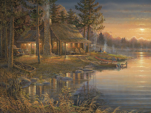 Sam Timm: The Peaceful Place - 1000pc Jigsaw Puzzle by Karmin