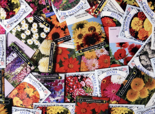 Photographic Reflections: Flower Seeds - 1500pc Jigsaw Puzzle by Karmin
