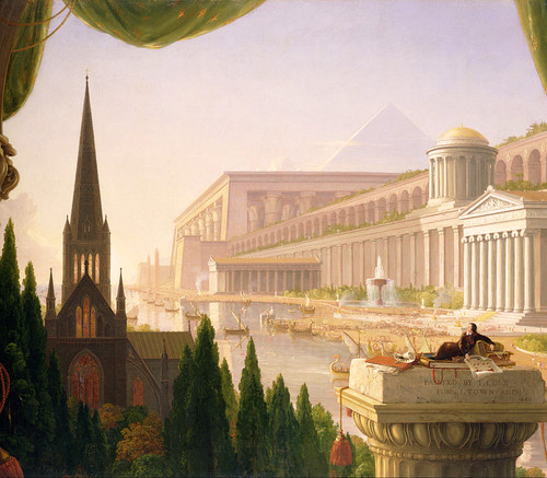 Thomas Cole: The Architect's Dream - 500pc Jigsaw Puzzle by Battle Road Press