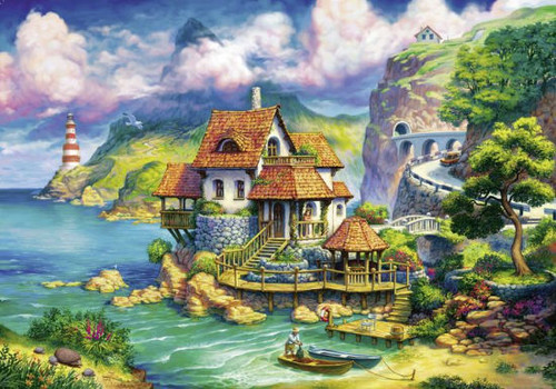 The Cliff House - 1000pc Jigsaw Puzzle By Ravensburger