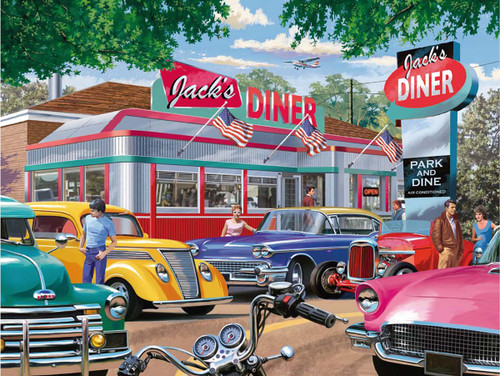 Meet you at Jack's - 750pc Large Format Jigsaw Puzzle By Ravensburger
