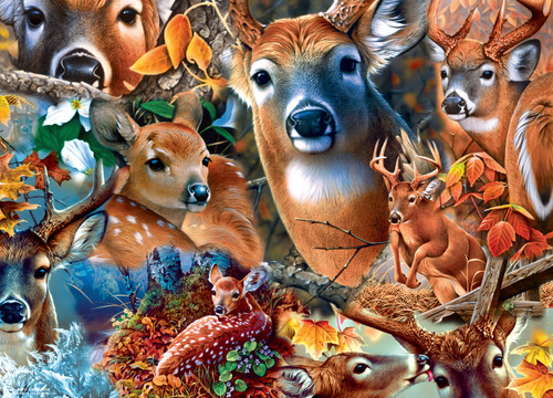 Realtree: Forest Beauties - 1000pc Jigsaw Puzzle By Masterpieces