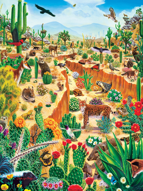Tribal Spirit: Last Oasis - 550pc Jigsaw Puzzle By Masterpieces