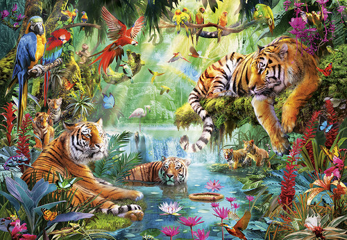 Tiger Lagoon - 2000pc Jigsaw Puzzle by Buffalo Games