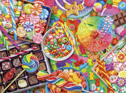 Vivid: Candylicious - 300pc Jigsaw Puzzle by Buffalo Games