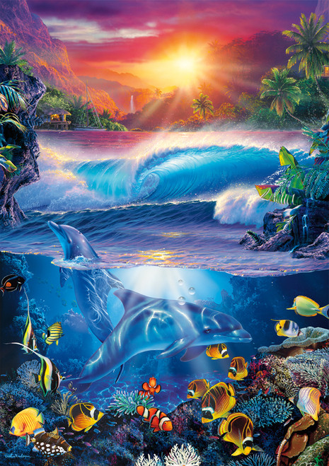 Amazing Nature: Crystal Cove II - 500pc Jigsaw Puzzle By Buffalo Games