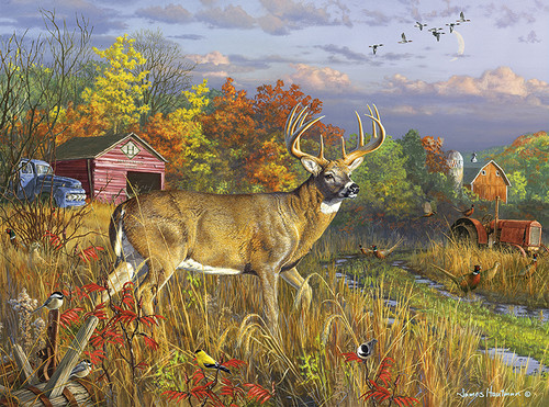 Hautman Brothers: Fall Colors - 1000pc Jigsaw Puzzle by Buffalo Games