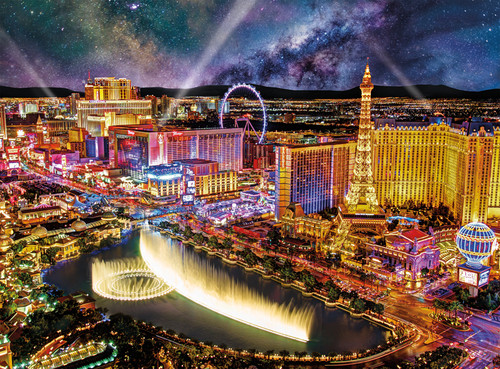 Las Vegas Night - 1000pc Jigsaw Puzzle by Buffalo Games