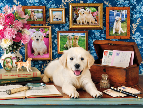 A Dog's Life: The Retrievers - 750pc Jigsaw Puzzle by Buffalo Games