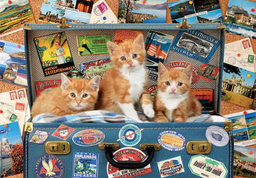 Travelling Kittens - 200pc Jigsaw Puzzle By Educa