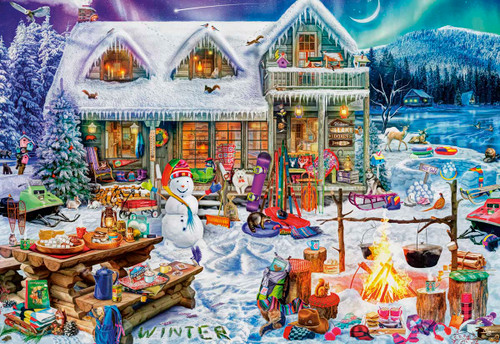 Winterland Fun - 2000pc Jigsaw Puzzle by Buffalo Games