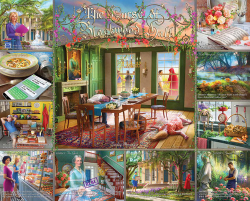 Curse of Blackwood Hall - 1000pc Mystery Jigsaw Puzzle By White Mountain