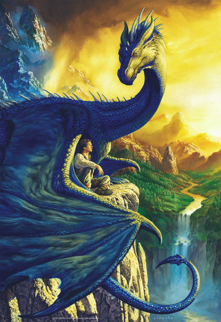Eragon & Saphira - 500pc Jigsaw Puzzle by Educa