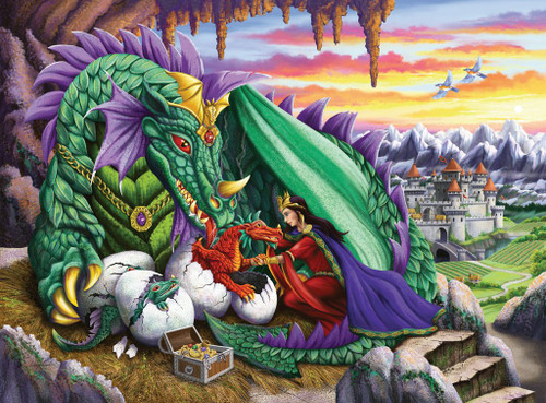 Queen of Dragons - 200pc Jigsaw Puzzle By Ravensburger