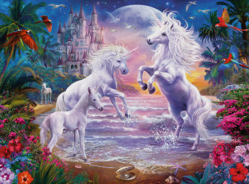 Unicorn Paradise - 300pc Jigsaw Puzzle By Ravensburger