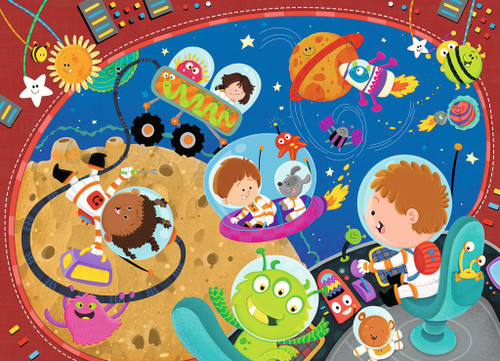 Recess in Space! - 60pc Jigsaw Puzzle By Ravensburger