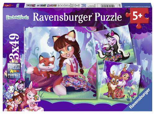 Enchantimals - 3x49pc Jigsaw Puzzle By Ravensburger