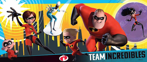 Incredibles 2 - 200pc Panoramic Jigsaw Puzzle By Ravensburger