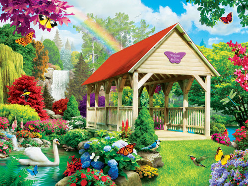Memory Lane: Welcome to Heaven - 300pc EZ Grip Jigsaw Puzzle By Masterpieces