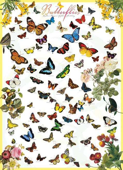 Eurographics Jigsaw Puzzles - Butterflies
