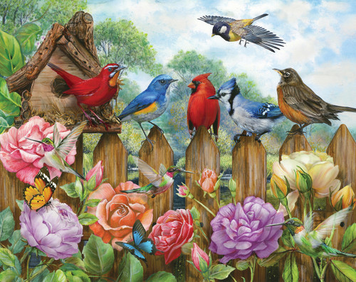 Morning Serenade - 500pc Jigsaw Puzzle By Springbok