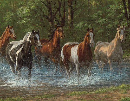 Summer Creek - 36pc Large Piece Jigsaw Puzzle By Springbok