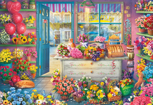 In Full Bloom - 2000pc Jigsaw Puzzle by Buffalo Games