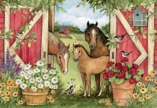 Heartland Barn - 1000pc Jigsaw Puzzle by Lang
