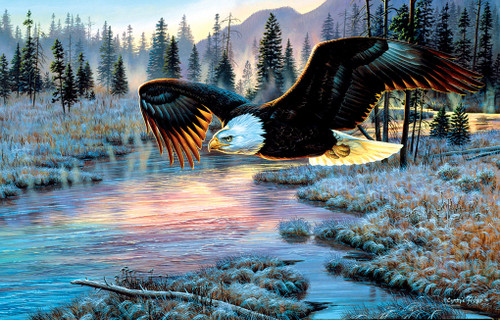 Eagle Dawn - 1000pc Jigsaw Puzzle by Sunsout