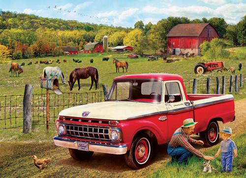 Girdano: Grandpa's Old Truck - 1000pc Jigsaw Puzzle by Eurographics
