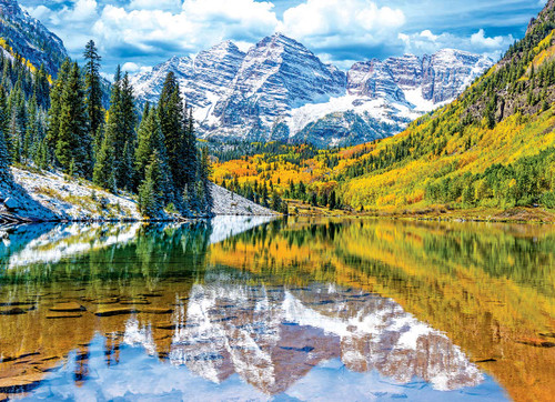 Rocky Mountains Colorado - 1000pc Jigsaw Puzzle by Eurographics