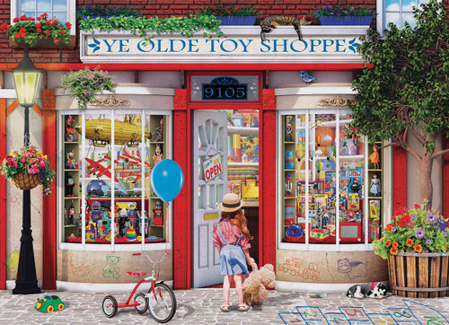 Normand: Ye Olde Toy Shoppe - 1000pc Jigsaw Puzzle by Eurographics