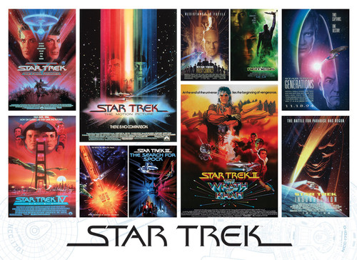 Star Trek: The Motion Pictures - 1000pc Jigsaw Puzzle By Cobble Hill