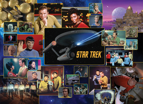 Star Trek: The Original Series - 1000pc Jigsaw Puzzle By Cobble Hill