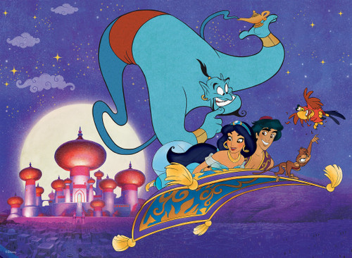 Disney Friends: Aladdin - 200pc Oversized Jigsaw Puzzle by Ceaco