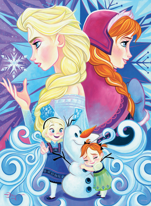 Disney Friends: Frozen - 200pc Oversized Jigsaw Puzzle by Ceaco