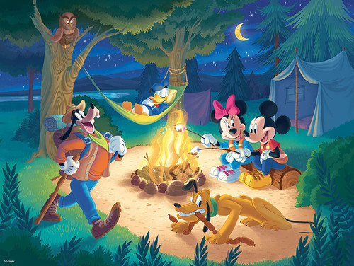 Together Time: Disney - 400pc Family Style Jigsaw Puzzle by Ceaco