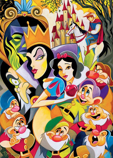Disney Fine Art: Enchantment of Snow White - 1000pc Jigsaw Puzzle by Ceaco
