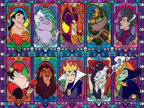 Disney: Villains 2 - 1500pc Jigsaw Puzzle by Ceaco