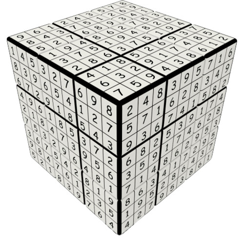 Udoku 3x3 Puzzle Cube by V-CUBE