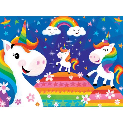 Lil Puzzler: Rainbow Unicorns - 24pc Jigsaw Puzzle by Masterpieces