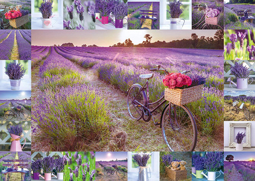 The Scent of Lavender - 1000pc Jigsaw Puzzle by Schmidt