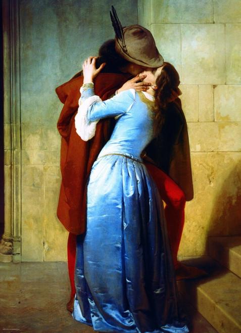 Eurographics Jigsaw Puzzles - Hayez: The Kiss