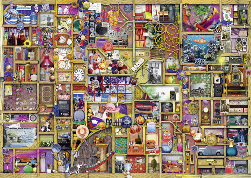 The Collector's Cupboard - 1000pc Jigsaw Puzzle By Ravensburger