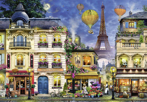 Evening Walk in Paris - 18000pc Jigsaw Puzzle By Ravensburger