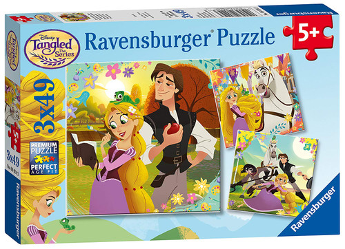 Disney: Tangled TV Series - 3x49pc Multipack Jigsaw Puzzle By Ravensburger